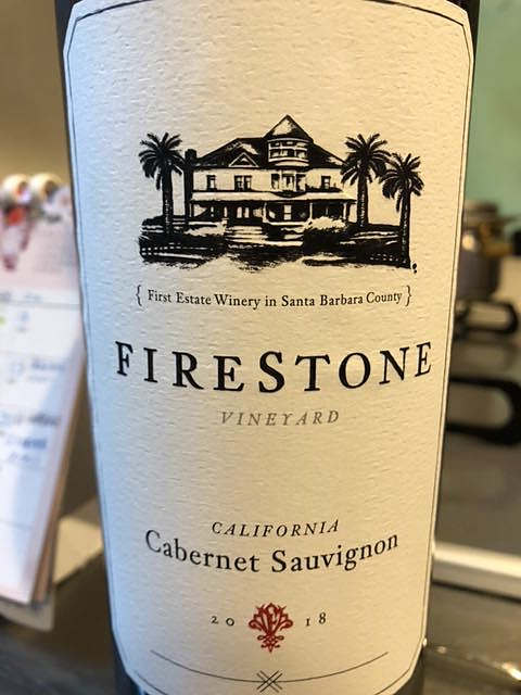 Firestone Vineyard Cabernet Sauvignon California(ファイアーストーン・ヴィンヤード カベルネ・ソーヴィニヨン カリフォルニア)