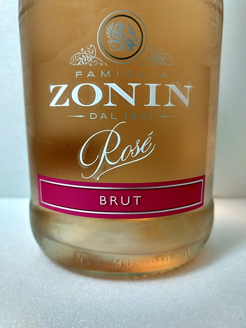 Zonin Rosè Spumante Brut(ゾーニン ロゼ スプマンテ ブリュット)