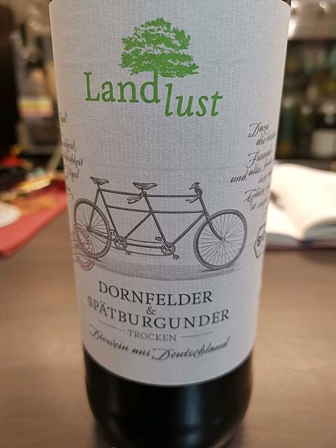 Landlust Dornfelder & Spätburgunder Troken (Rheinhessen)