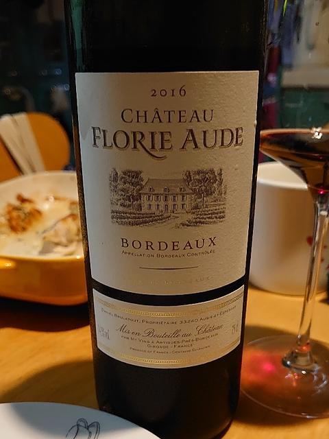 Ch. Florie Aude Bordeaux Rouge(シャトー・フローリー・オード ボルドー ルージュ)
