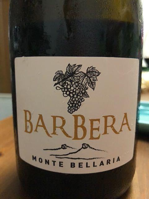 Monte Bellaria Barbera(モンテ・ベッラーリア バルベーラ)