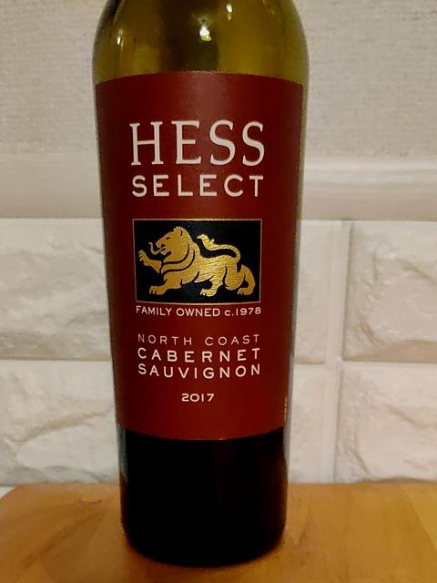 Hess Select North Coast Cabernet Sauvignon(ヘス セレクト ノース・コースト カベルネ・ソーヴィニヨン)