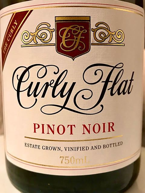 Curly Flat Pinot Noir The Curly