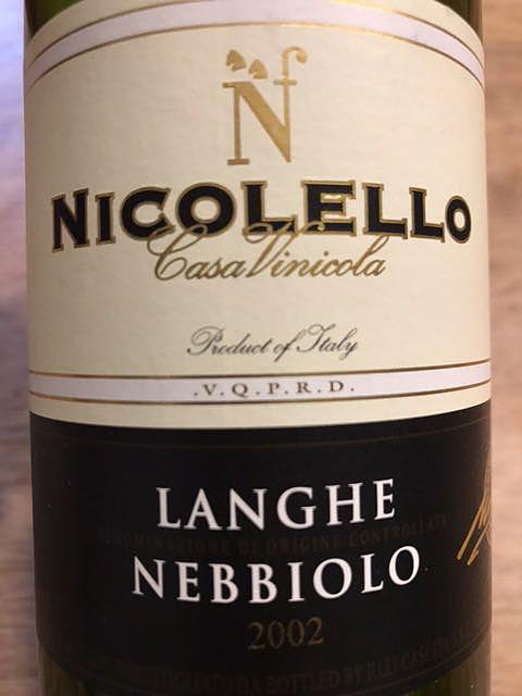 Nicolello Langhe Nebbiolo(ニコレッロ ランゲ・ネッビオーロ)