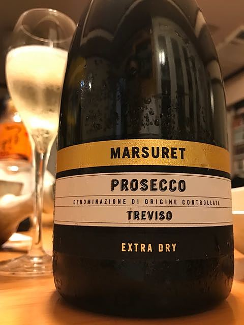Marsuret Prosecco Treviso Extra Dry(マルスレット プロセッコ トレヴィーゾ エクストラ・ドライ)