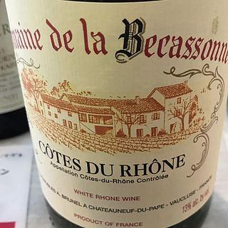 Dom. de la Becassonne Côtes du Rhône Blanc