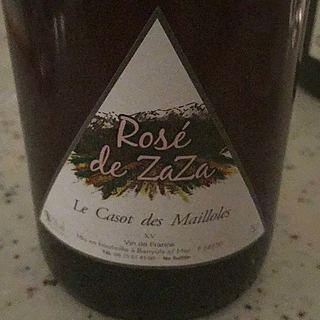 Le Casot des Mailloles Rosé de Zaza(ル・カソ・デ・マイヨール ロゼ・ド・ザザ)