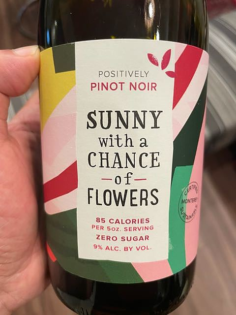 Sunny with a Chance of Flowers Pinot Noir(サニー ピノ・ノワール)