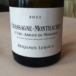 Benjamin Leroux Chassagne Montrachet 1er Cru Abbaye de Morgeot(バンジャマン・ルルー シャサーニュ・モンラッシェ プルミエ・クリュ アベイ・ド・モルジョ)