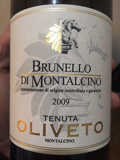 Tenuta Oliveto Brunello di Montalcino