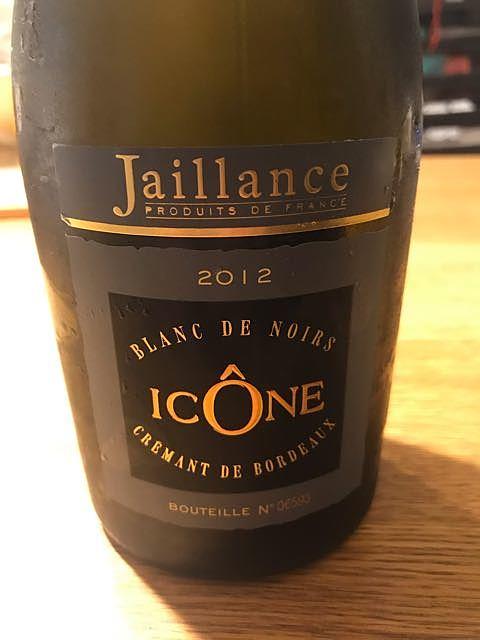 Jaillance Crémant de Bordeaux Icône Blanc de Noirs