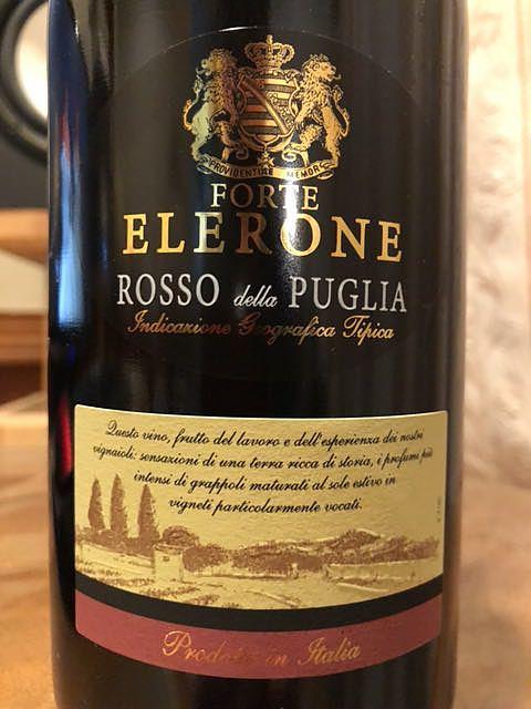 Forte Elerone Rosso della Puglia