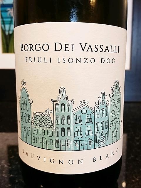 Borgo dei Vassalli Sauvignon Blanc(ボルゴ・ディ・ヴァッサーリ ソーヴィニヨン・ブラン)