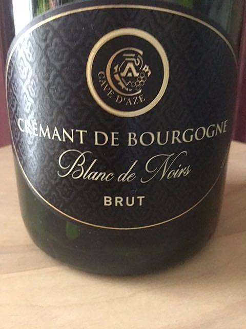 La Cave d'Azé Crémant de Bourgogne Blanc de Noirs Brut