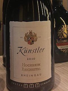 Künstler Hochheim Reichestal Spätburgunder Dry