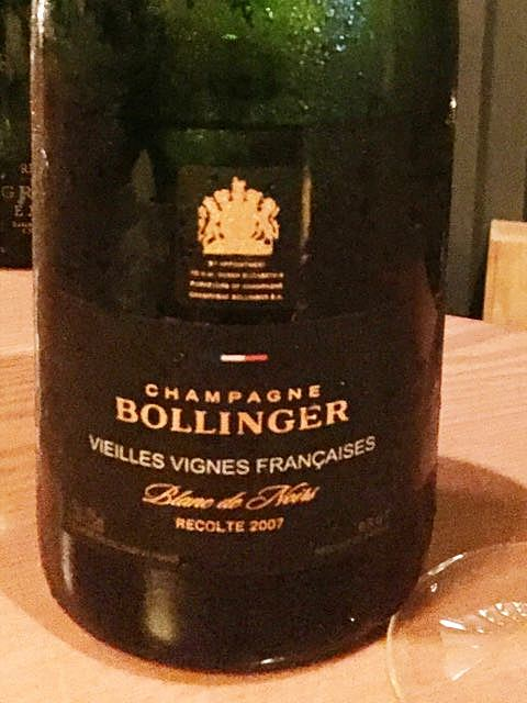 Bollinger Vieilles Vignes Françaises Blanc de Noirs(ボランジェ ヴィエイユ・ヴィーニュ・フランセーズ ブラン・ド・ノワール)