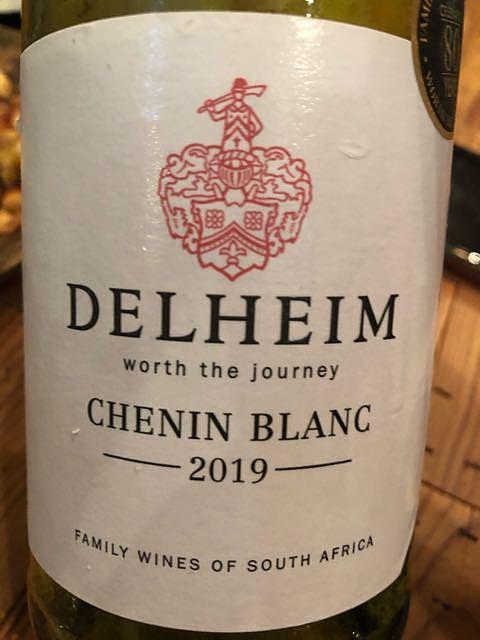 Delheim Chenin Blanc(デルヘイム シュナン・ブラン)