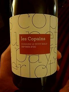 Dom. Le Petit Malo Les Copains Rouge(ドメーヌ・ル・プティ・マロ レ・コパン ルージュ)