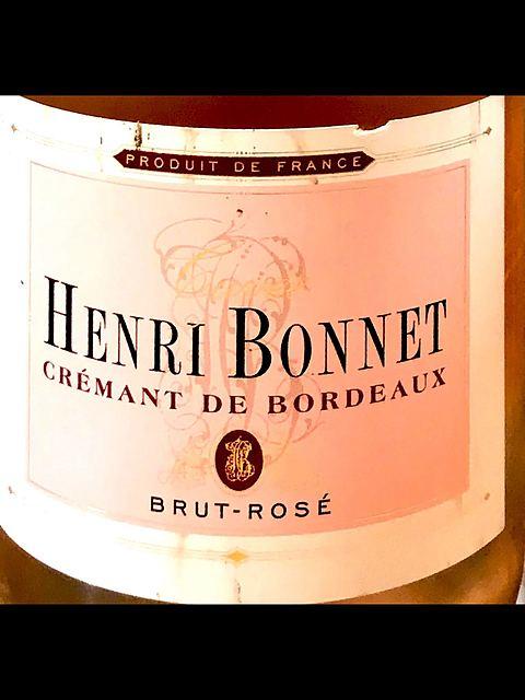 Henri Bonnet Crémants de Bordeaux Brut Rosé