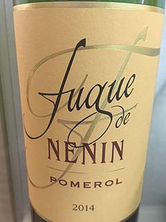Fugue de Nénin(フューグ・ド・ネナン)