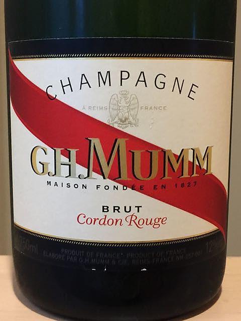 G.H.Mumm Cordon Rouge