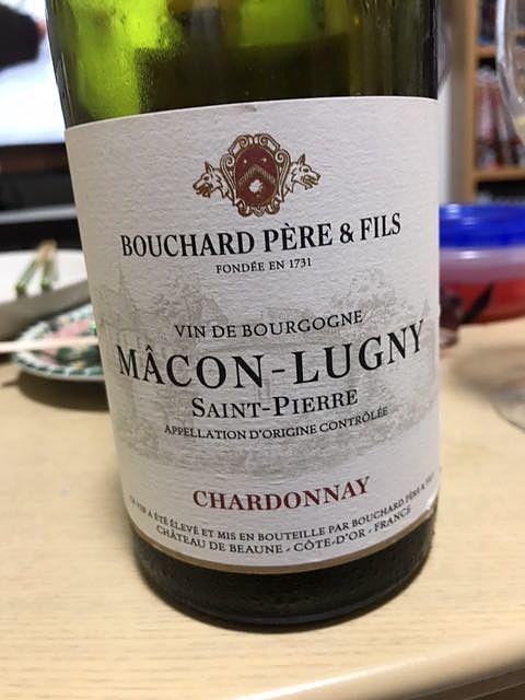 Bouchard Père & Fils Mâcon Lugny Saint Pierre(ブシャール・ペール・エ・フィス マコン・リュニィ サン・ピエール)