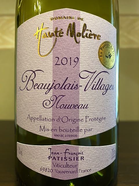 Dom. de Haute Molière Beaujolais Villages Nouveau