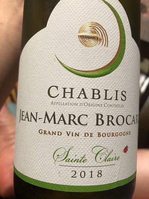 Jean Marc Brocard Chablis Dom. Sainte Claire(ジャン・マルク・ブロカール シャブリ ドメーヌ・サン・クレール)