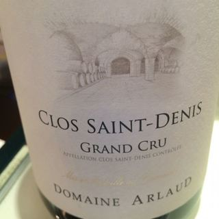 Dom. Arlaud Clos Saint Denis Grand Cru