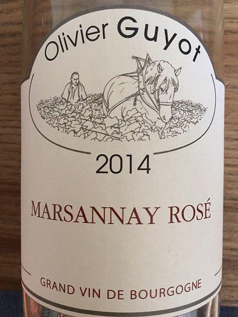 Olivier Guyot Marsannay Rosé