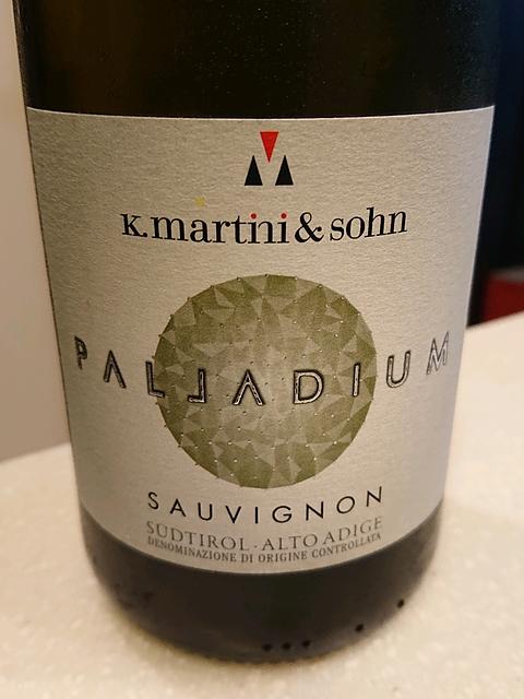 K. Martini & Sohn Palladium Sauvignon(マルティーニ&ソーン パラディウム ソーヴィニヨン)