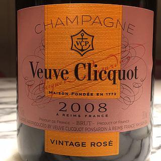 Veuve Clicquot Ponsardin Vintage Rosé