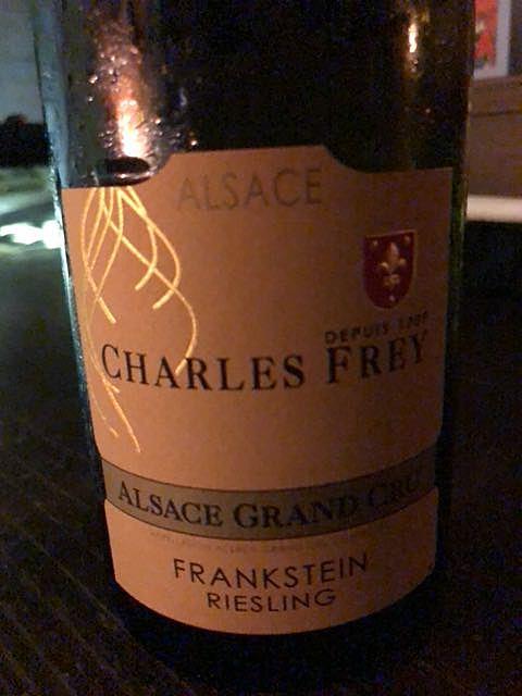 Dom. Charles Frey Riesling Grand Cru Frankstein(ドメーヌ・シャルル・フレイ リースリング グラン・クリュ フランクシュタイン)