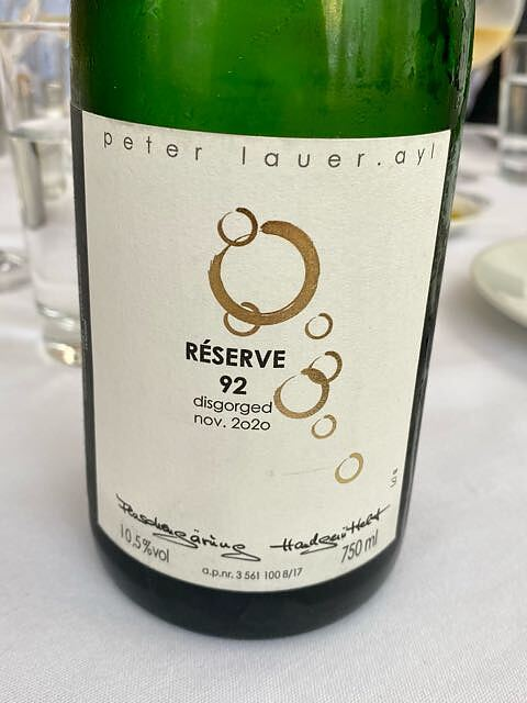 Peter Lauer Réserve 1992 Brut(ペーター・ラウアー)
