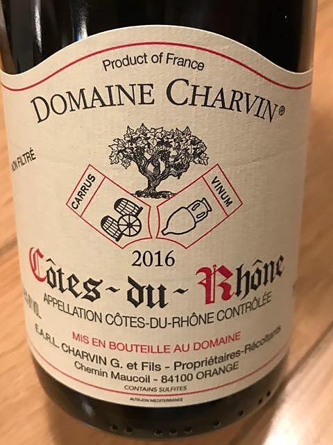 Dom. Charvin Côtes du Rhône Rouge