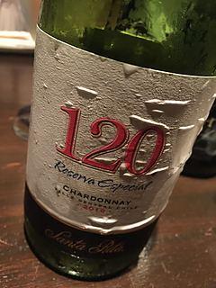 Santa Rita 120 Reserva Especial Chardonnay(サンタ・リタ シェイント・ペインテ レゼルヴァ・エスペシアル シャルドネ)