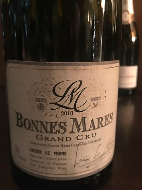 Lucien Le Moine Bonnes Mares Grand Cru(ルシアン・ル・モワンヌ ボンヌ・マール グラン・クリュ)