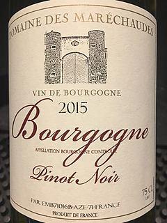 Dom. des Maréchaudes Bourgogne Pinot Noir