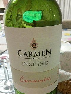 Carmen Insigne Carmenére(カルメン インシグネ カルムネール)