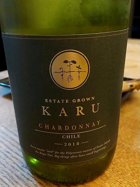 Karu Estate Chardonnay