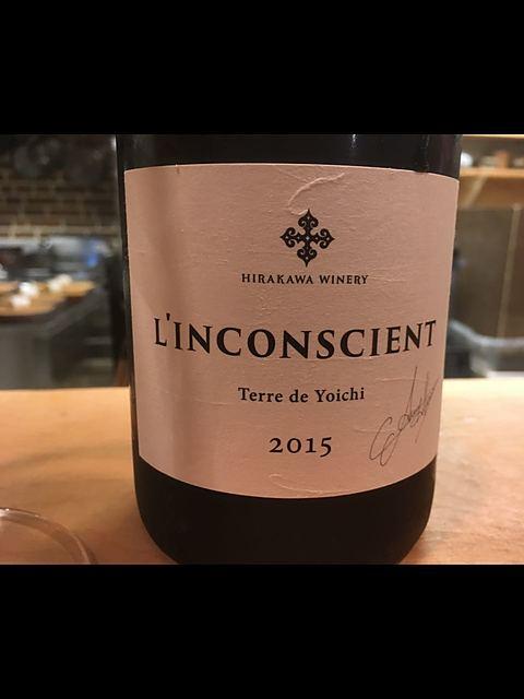 Hirakawa Winery L'Inconscient Terre de Yoichi