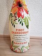 サンテロ ピノ・シャルドネ ブリュット フラワー・ボトル