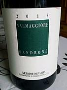 ルチアーノ・サンドローネ ネッビオーロ・ダルバ ヴァルマッジョーレ(2013)