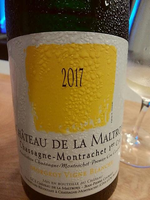 Ch. de la Maltroye Chassagne Montrachet 1er Cru Morgeot Vigne Blanche(シャトー・ド・ラ・マルトロワ シャサーニュ・モンラッシェ プルミエ・クリュ モルジョ ヴィーニュ・ブランシュ)