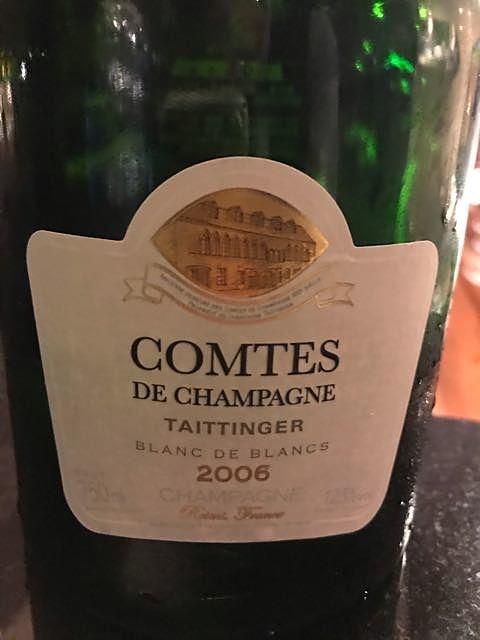 Taittinger Comtes de Champagne Blanc de Blancs Millesime(テタンジェ コント・ド・シャンパーニュ ブラン・ド・ブラン ミレジメ)