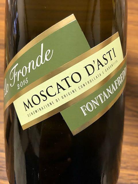 Fontanafredda Le Fronde Moscato d'Asti(フォンタナフレッダ レ・フロンデ モスカート・ダスティ)