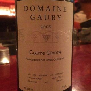 Dom. Gauby Coume Gineste Rouge(ドメーヌ・ゴビー クーム・ジネステ ルージュ)