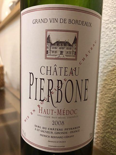 Ch. Pierbone(シャトー・ピエルボン)