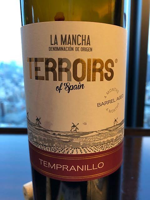 Terroirs of Spain Barrel Aged La Mancha Tempranillo(テロワール・オブ・スペイン バレル・エイジド ラ・マンチャ テンプラニーリョ)