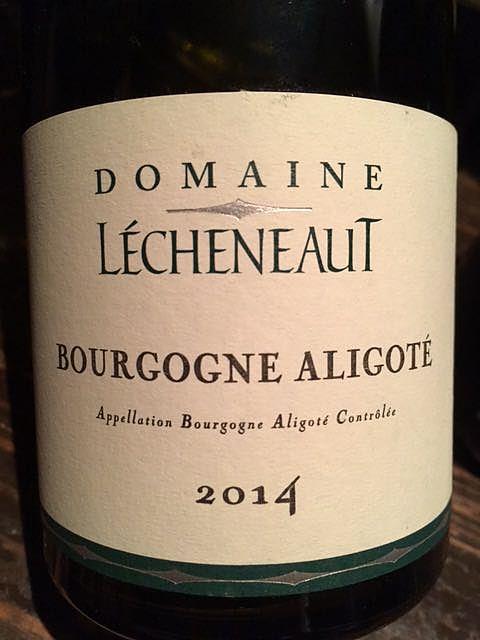 Dom. Lécheneaut Bourgogne Aligoté(ドメーヌ・レシュノー ブルゴーニュ アリゴテ)